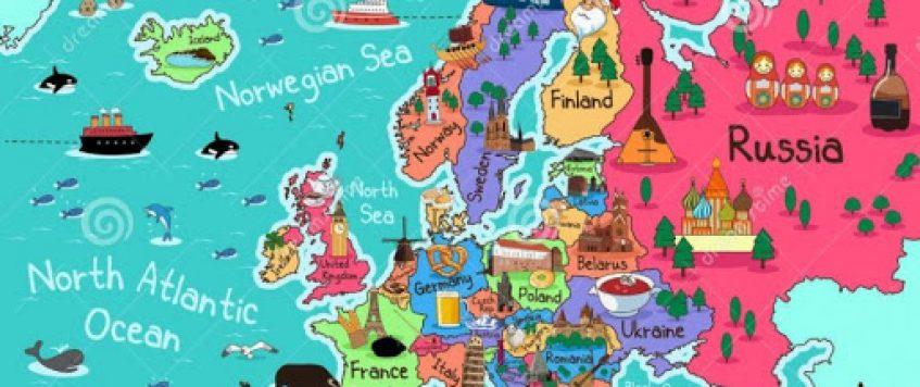 Доставить продукцию конечным клиентам в Европе